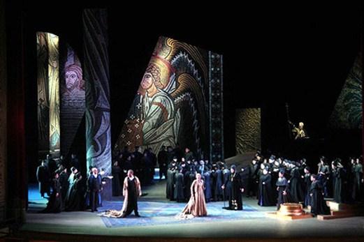 King Roger, Szymanowski, Teatro Massimo, Palermo, Italy, 2005