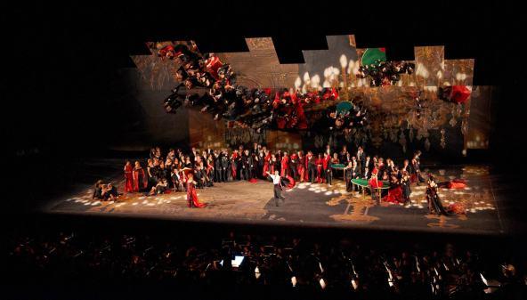 La Traviata, Sferisterio Opera Fetsival (outdoors), 2012