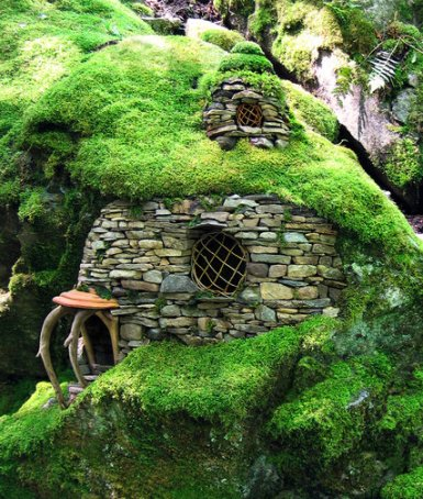 Emerald Moss House © Sally J. Smith