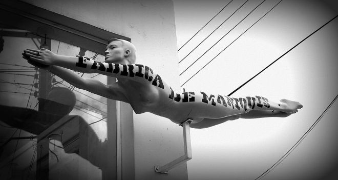 Flying Mannequin © Christine Zenino with CCLicense