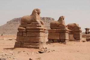 Temple of Amun in Naga, Sudan