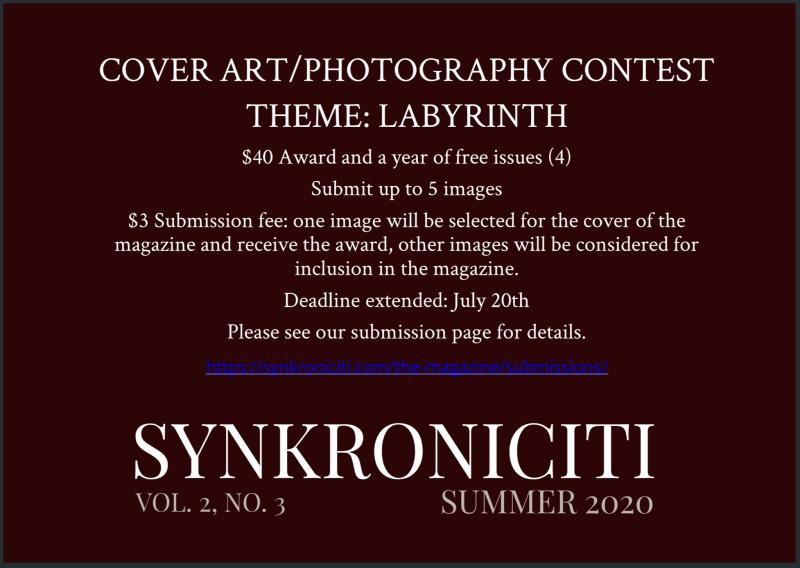 Cover art contest