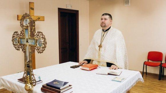 Медичний капелан отець Ярослав Рохман