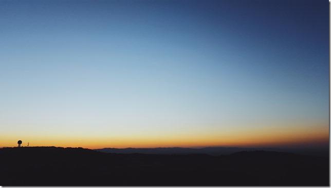 levé du soleil à Saint-Cyr-au-Mont-d'Or
