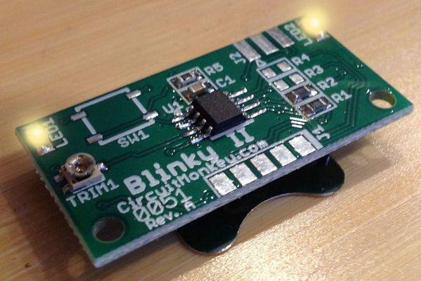 Wee Blinky Kit Beginner Soldering