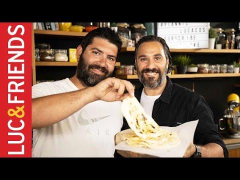 Naan με αρωματικό βούτυρο – Μιχάλης Νουρλόγλου | Yiannis Lucacos