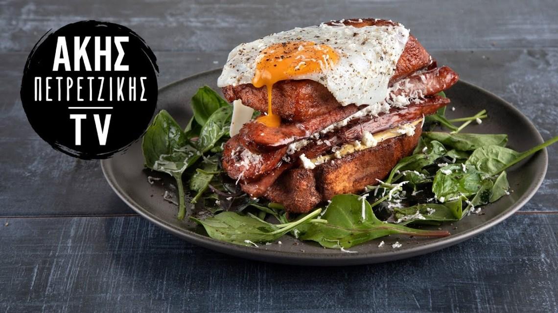 Αβγόφετες Σάντουιτς Επ. 26 | Kitchen Lab TV | Άκης Πετρετζίκης