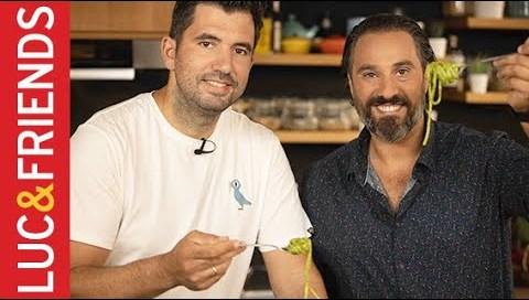 Σκορδομακάρονα με χειμωνιάτικο Pesto - Γκίκας Ξενάκης   Yiannis Lucacos