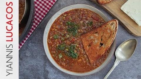 Φακές σούπα   Yiannis Lucacos
