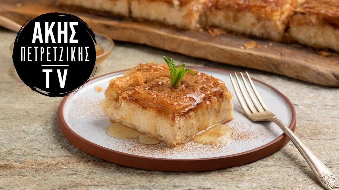 Γλυκιά Τυρόπιτα Επ. 53 | Kitchen Lab TV | Άκης Πετρετζίκης