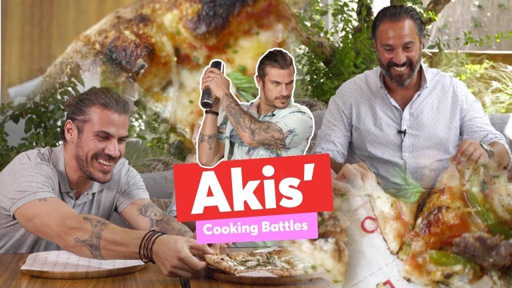 Akis' Cooking Battles | The Pizza | Άκης Πετρετζίκης
