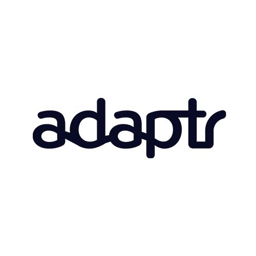 Adaptr, logo, app, streaming, playlist, Syntax Creative - image