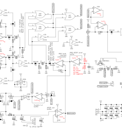 adsr envelope generator module synth diy with mich the complete circuit with pointing out components [ 2300 x 1558 Pixel ]