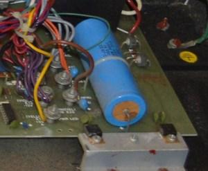 ARP Quadra leaking aluminum electrolytic capacitor