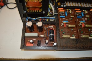 ARP String Ensemble Power Supply - after recapping