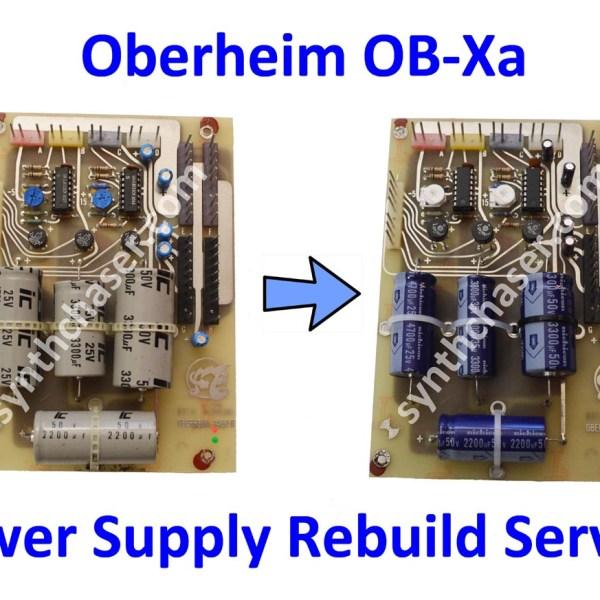 Oberheim OB-Xa Power Supply Rebuild Service