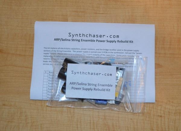ARP/Solina String Ensemble Power Supply Rebuild Kit