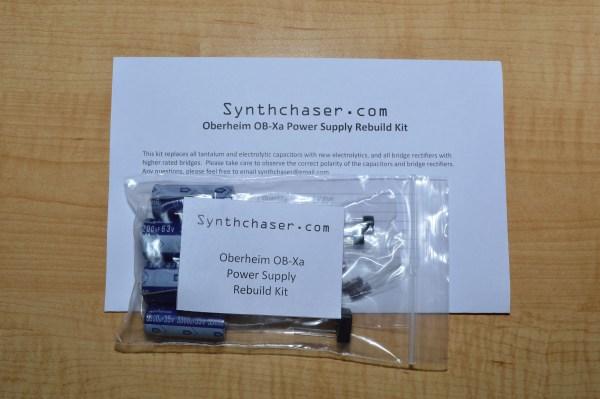 Oberheim OB-Xa Power Supply Capacitor & Rebuild Kit