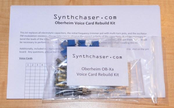 Oberheim OB-Xa Voice Card Rebuild Kit