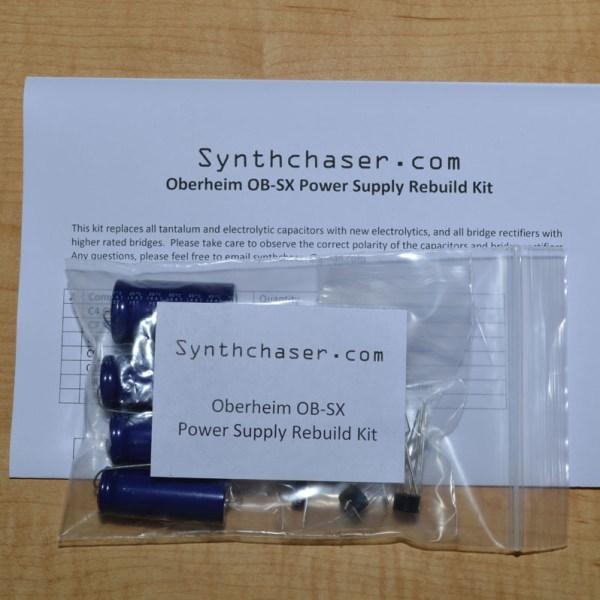 Oberheim OB-SX Power Supply Capacitor & Rebuild Kit
