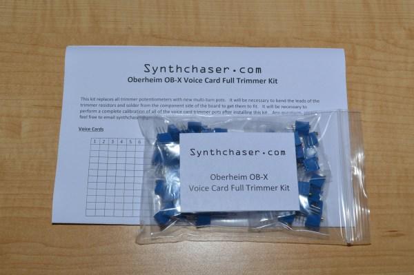 Oberheim OB-X Voice Card Full Trimmer Kit
