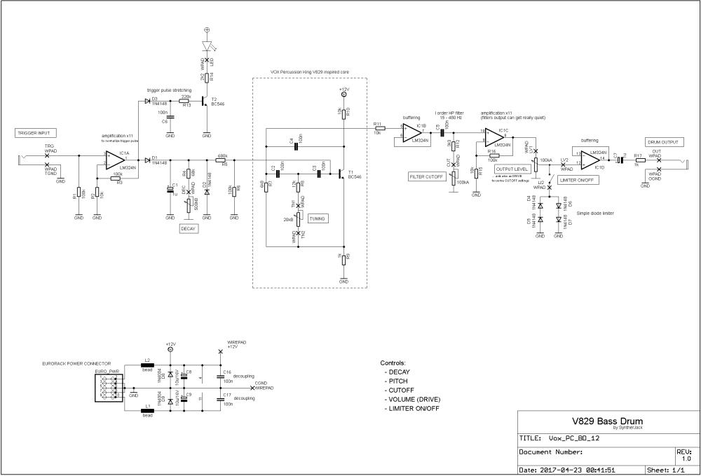 medium resolution of kraft drum schematics