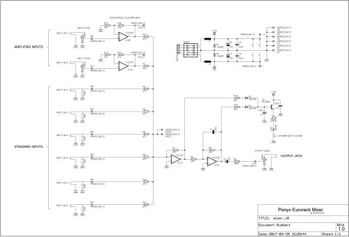 small resolution of ponyo mixer schematics