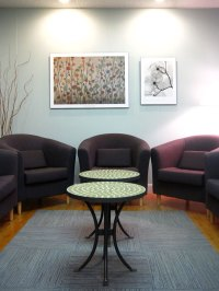 Stylish Waiting Room