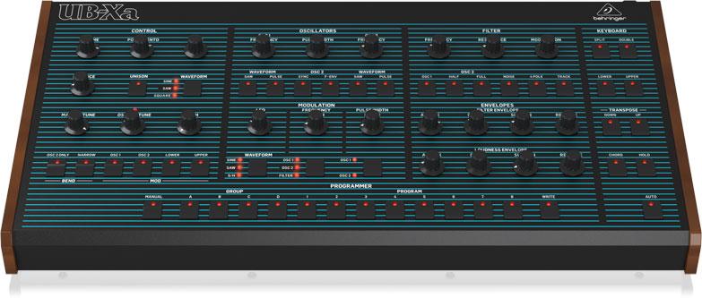 Behringer UB-XA Desktop Synthesizer Visualisierung