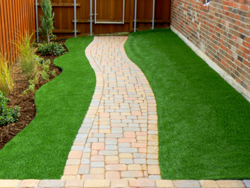 Synthetic Grass Pros artificial turf saves you the hassle