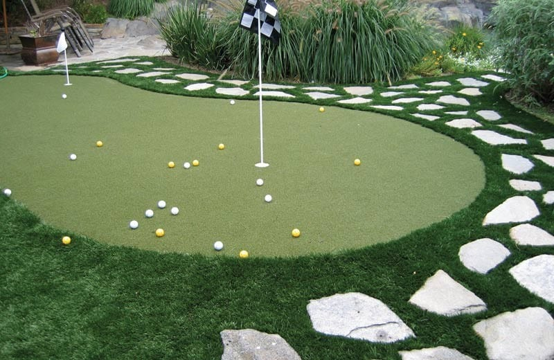 Putting Green Installations  Galleries  Synthetic Grass Warehouse