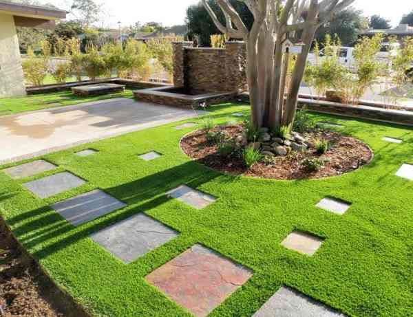 residential artificial grass installations