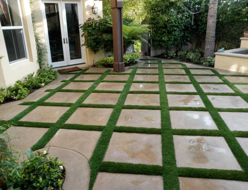 Residential Artificial Grass Installations  Galleries  Synthetic Grass Warehouse