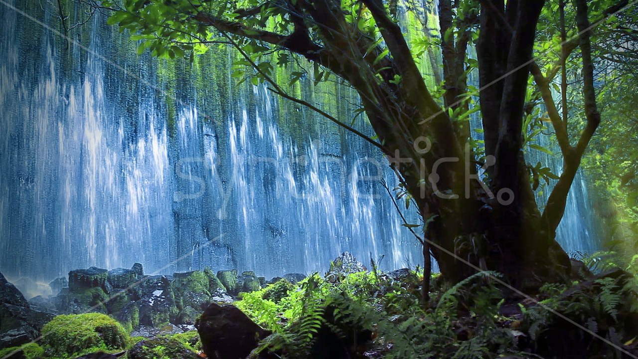 Free Scenic Fall Wallpaper Waterfall Old Dam 6 Stock Video Footage Synthetick