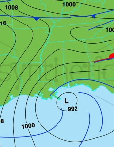 Weather forecast map of south east usa also stock video footage synthetick rh