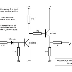 Taylor Dunn Wiring Diagram Pyromation Rtd Dual Op Amp Library Gate Buffer Using Transistors