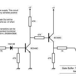 gate buffer using transistors [ 3106 x 2044 Pixel ]