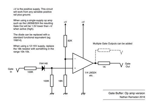 small resolution of gate buffer op amp version