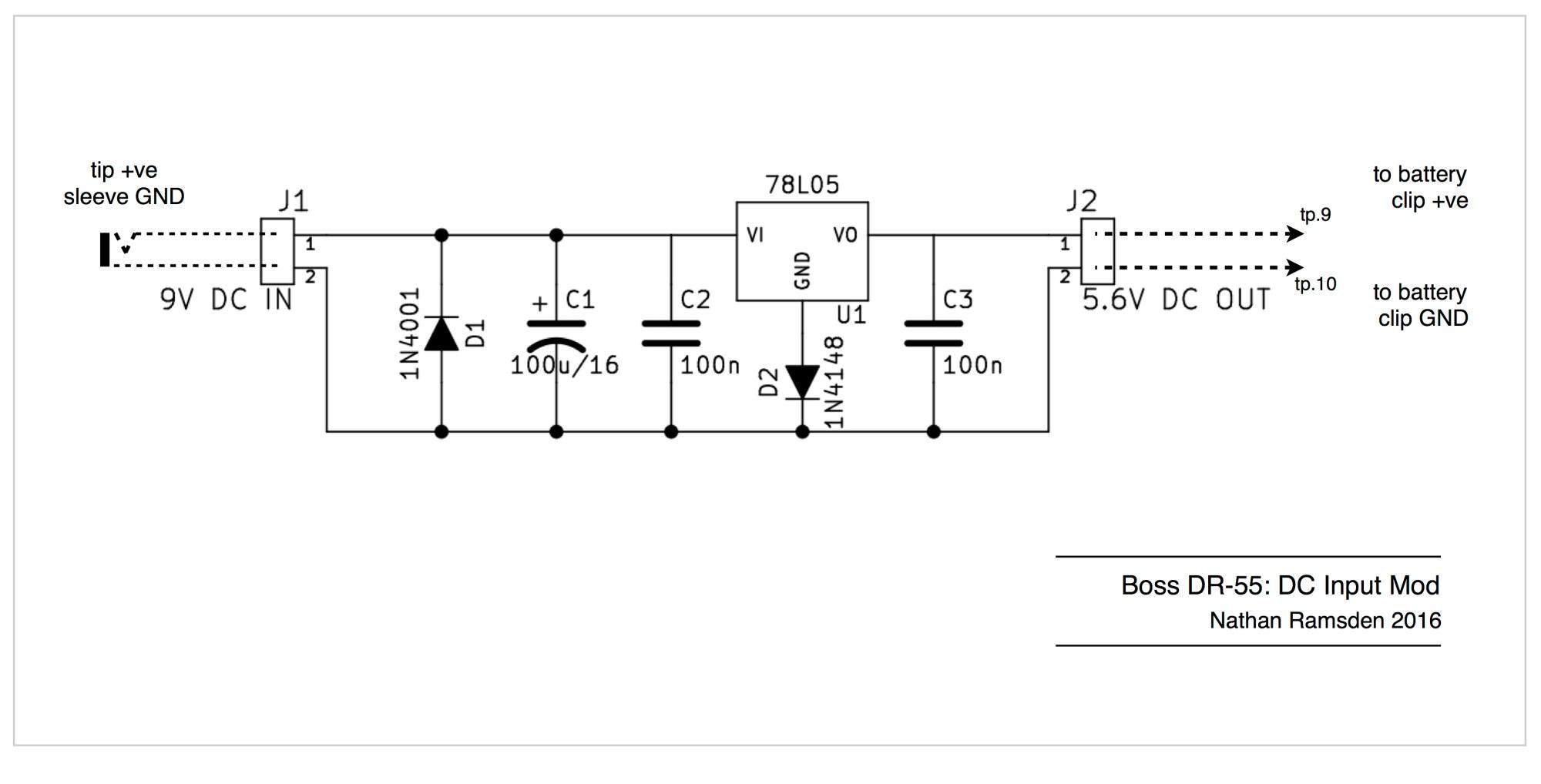 hight resolution of boss dr 55 dc input mod schematic