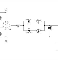 envelope circuits a simple ar design using op amps [ 3428 x 1587 Pixel ]