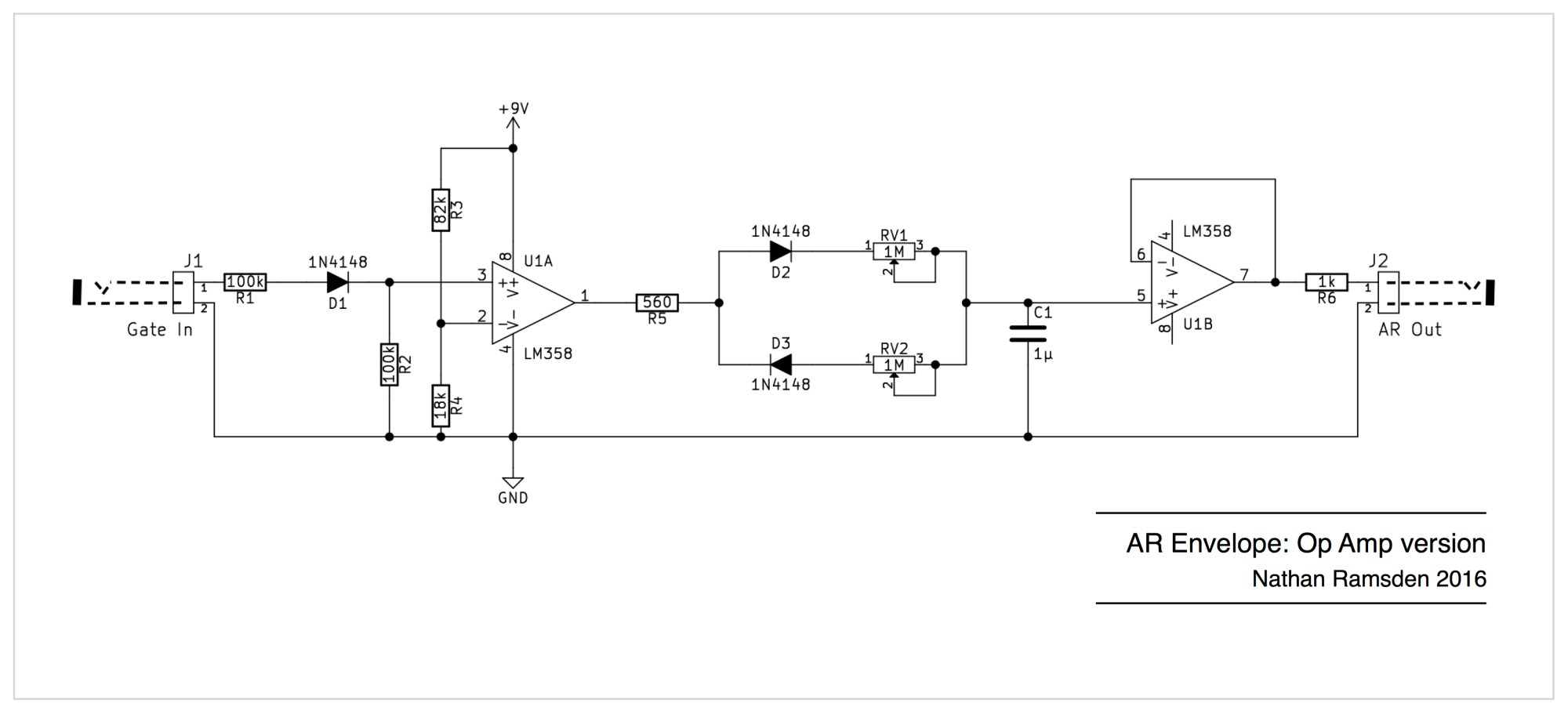 hight resolution of envelope circuits a simple ar design using op amps