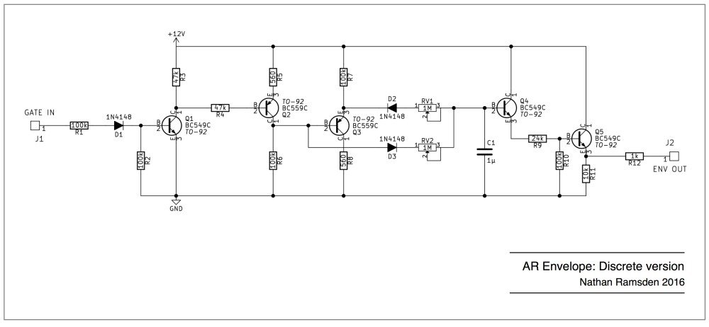 medium resolution of discrete ar envelope schematic