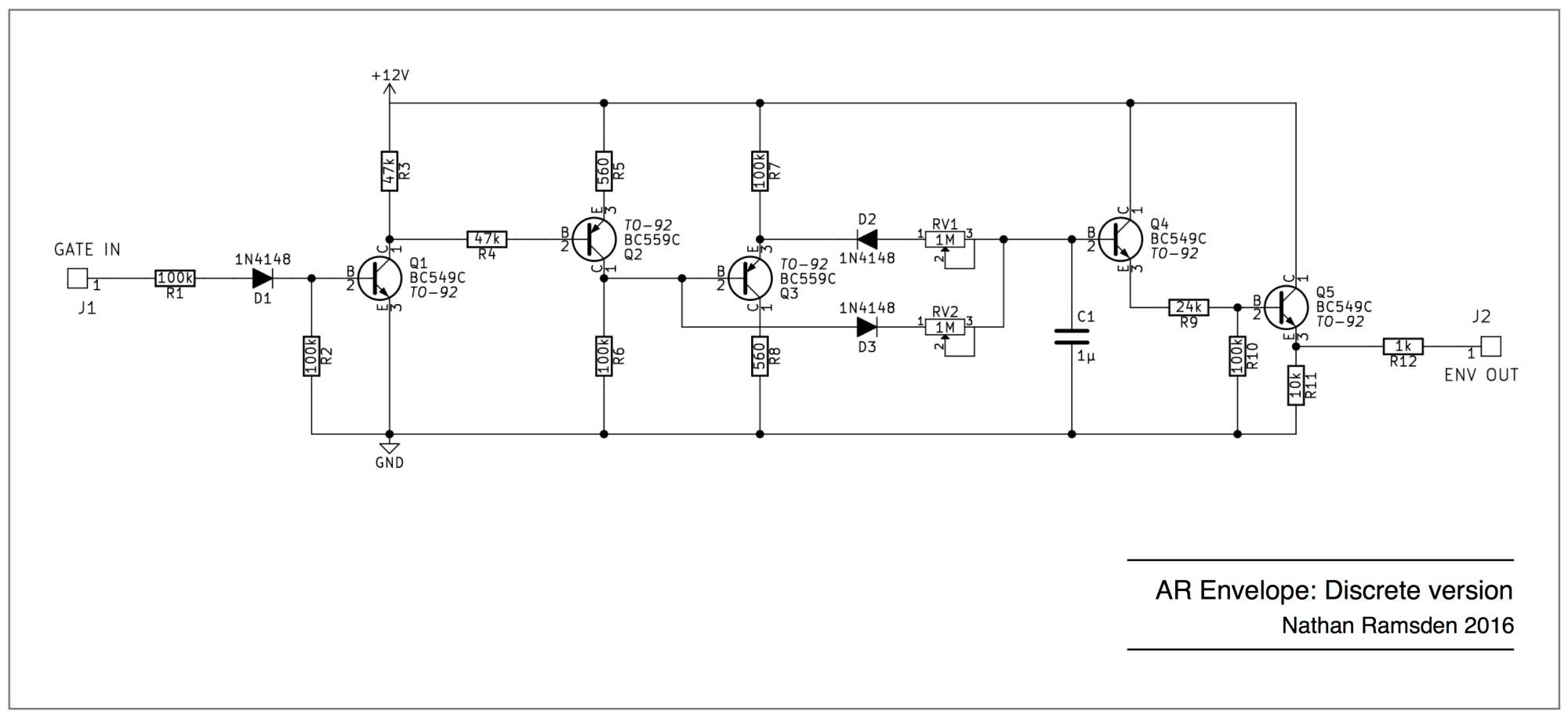 hight resolution of discrete ar envelope schematic