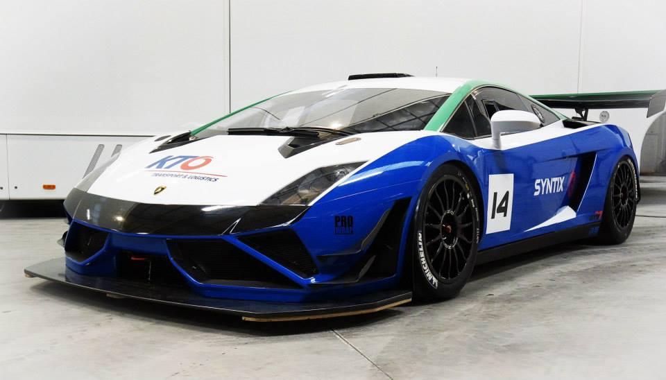 Syntix Supercars - Nurburgring - Lamborghini Gallardo GT3 - Syntix Innovative Lubricants