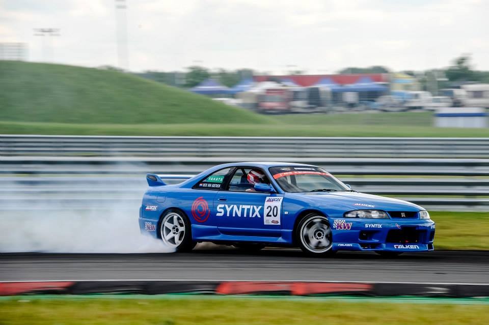 Rick van Goethem - Nissan Skyline GTR - Nurburgring Drift Cup - Drifting - Syntix Innovative Lubricants