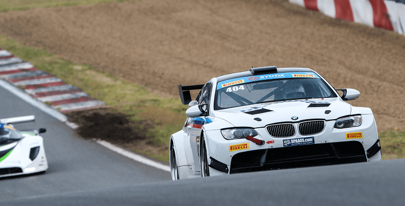 Syntix Superprix in Zolder - Supercar Challenge powered by Pirelli - White BMW - Syntix Innovative Lubricants