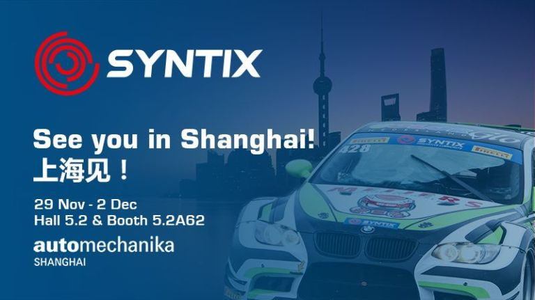 Automechanika Shanghai 2017 - Syntix Innovative Lubricants