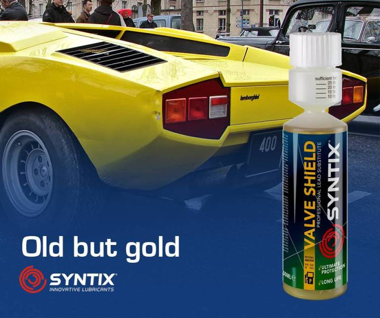 Classic Car Additive - Valve Shield for Unleaded Petrol - Syntix Innovative Lubricant