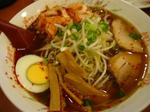 豚太郎南国バイパス店 キムチラーメン