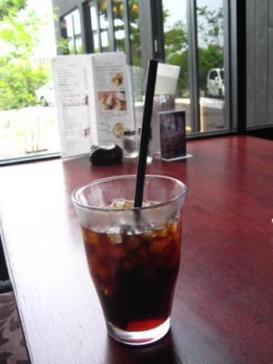 ビストロセルフィーユ 食後のアイスコーヒー